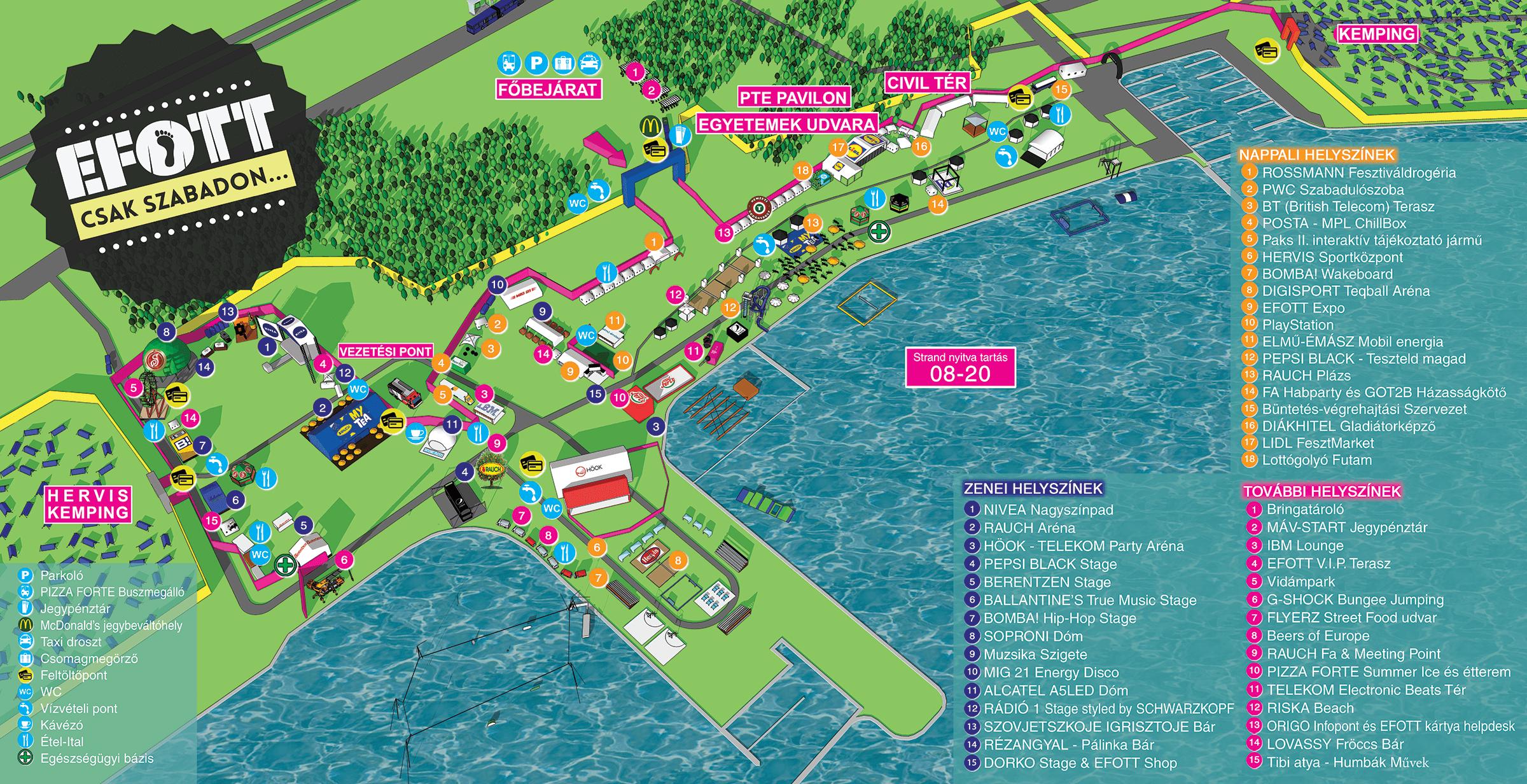 lidl térkép Nyári velencei programajánló: EFOTT | Hírek | infoFehérvár lidl térkép